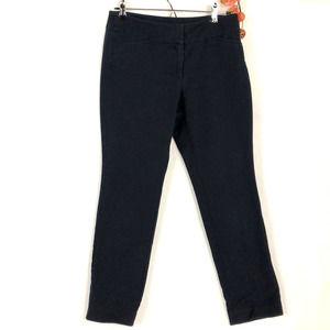 Ann Taylor Signature Crop Blue Pants